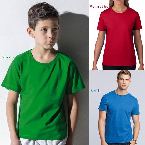 T-shirt algodão 180g ring-spun nova e de muita qualidade