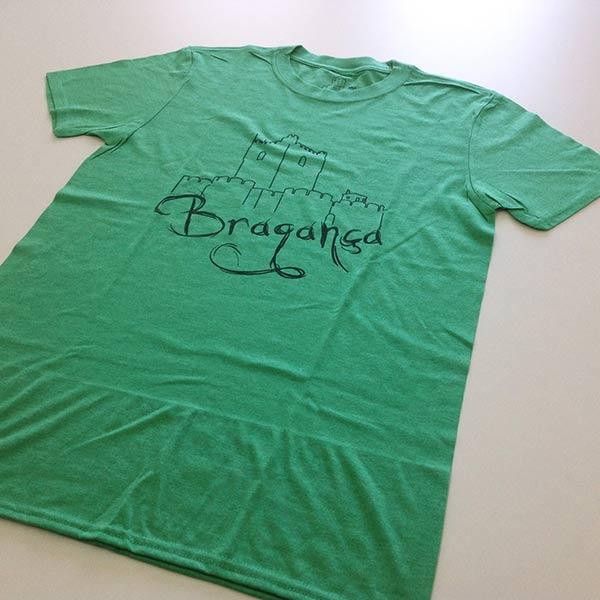 T-shirt Bragança verde