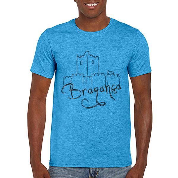 T-shirt Bragança azul