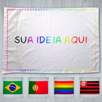 Bandeira personalizada 70x100cm