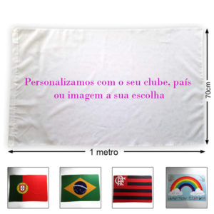 Bandeira Brasil ou personalizada
