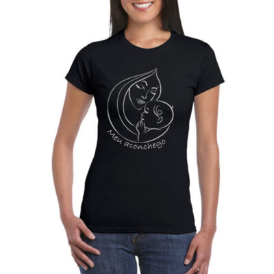 T-shirt Meu Aconchego com etiqueta personalizada