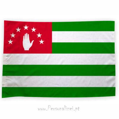 Bandeira Abecásia ou personalizada 70x100cm comprar bandeiras baratas em Portugal