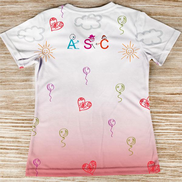 T-shirt Animadora Sociocultural profissão/curso costas