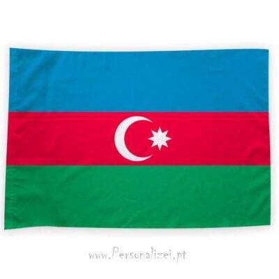 Bandeira Azerbaijão ou personalizada 70x100cm comprar bandeiras baratas