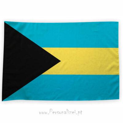 Bandeira Bahamas ou personalizada 70x100cm comprar bandeiras baratas em Portugal