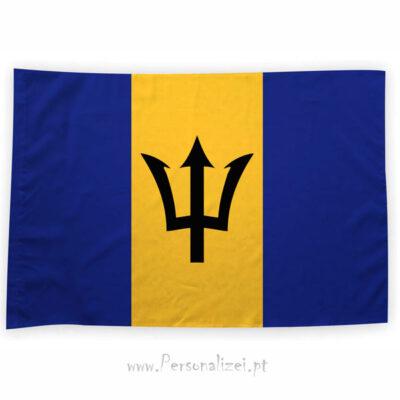 Bandeira Barbados ou personalizada 70x100cm comprar bandeiras baratas em Portugal
