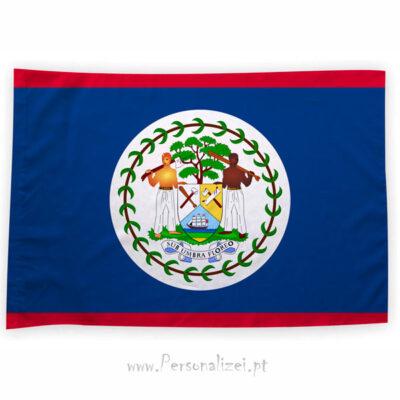 Bandeira Belize ou personalizada 70x100cm comprar bandeiras baratas em Portugal