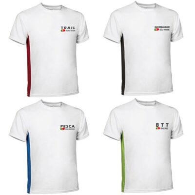 T-shirt com sua modalidade t-shirt técnica personalizada