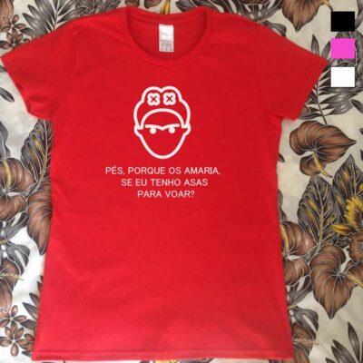 T-shirt Frida Kahlo Asas para voar.