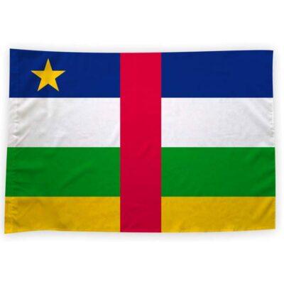 Bandeira República Centro-Africana ou personalizada 70x100cm