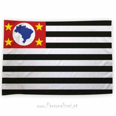 Bandeira São Paulo ou personalizada 70x100cm estado