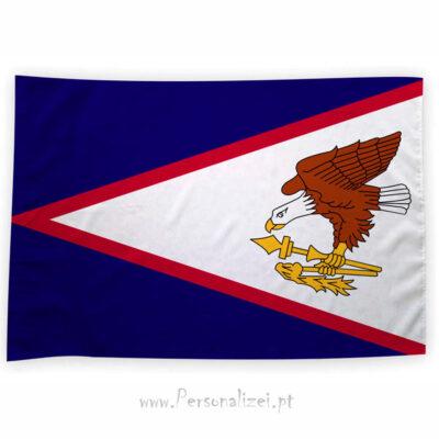 Bandeira Samoa Americana ou personalizada 70x100cm comprar bandeiras baratas