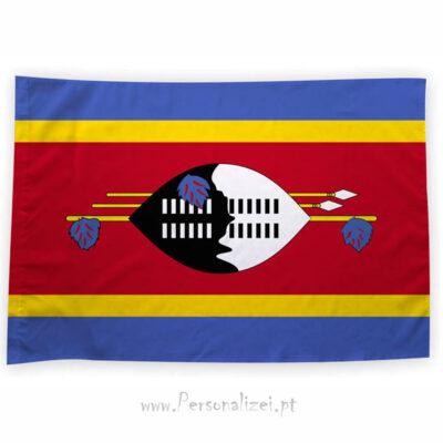 Bandeira Suazilândia ou personalizada 70x100cm