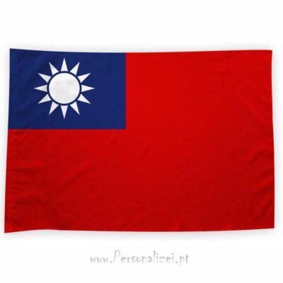 Bandeira Taiwan ou personalizada 70x100cm