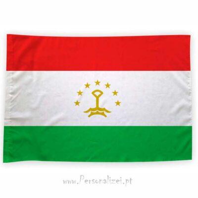 Bandeira Tajiquistão ou personalizada 70x100cm bandeiras preços acessíveis