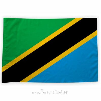 Bandeira Tanzânia ou personalizada 70x100cm bandeiras países africanos bom preço