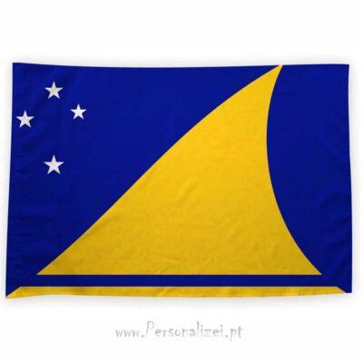 Bandeira Tokelau ou personalizada 70x100cm bandeiras em Portugal baratas
