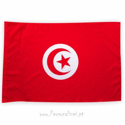 Bandeira Tunísia ou personalizada 70x100cm bandeiras africanas baratas em Portugal