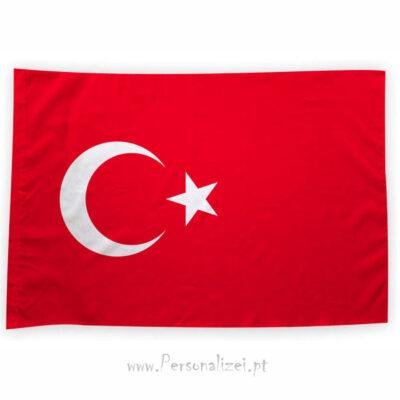 Bandeira Turquia ou personalizada 70x100cm bandeiras europeias baratas