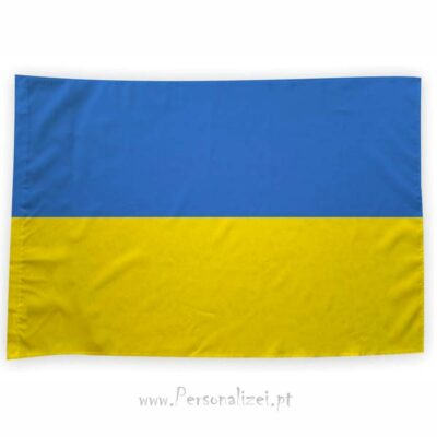 Bandeira Ucrânia ou personalizada 70x100cm bandeiras europeias baratas