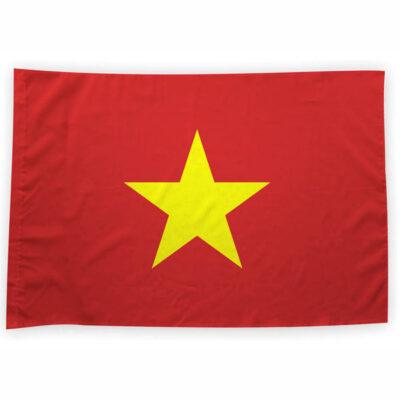Bandeira Vietname ou personalizada 70x100cm Vietnam