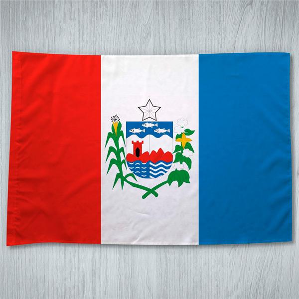 Bandeira Alagoas estado brasileiro em portugal