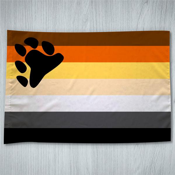 Bandeira Urso Orgulho Gay em Portugal