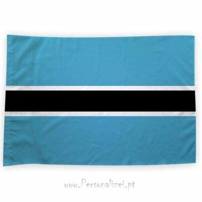 Bandeira Botsuana ou personalizada 70x100cm comprar bandeiras a bons preços em Portugal
