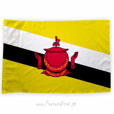 Bandeira Brunei ou personalizada 70x100cm comprar bandeiras baratas em Portugal