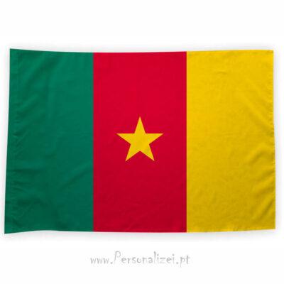 Bandeira Camarões ou personalizada 70x100cm comprar bandeiras baratas em Portugal