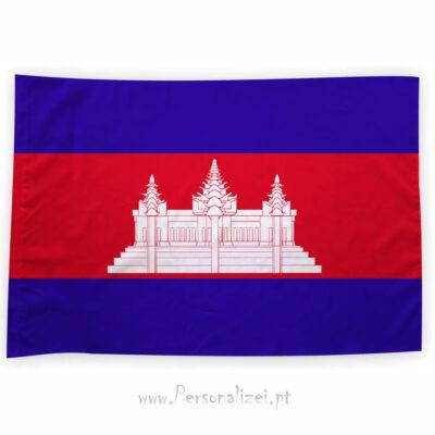 Bandeira Camboja ou personalizada 70x100cm comprar bandeiras baratas em Portugal