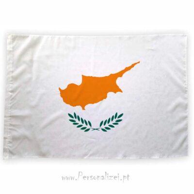 Bandeira Chipre ou personalizada 70x100cm comprar bandeiras baratas em Portugal