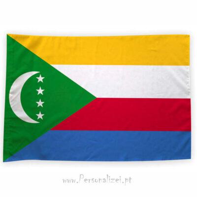 Bandeira Comores ou personalizada 70x100cm comprar bandeiras baratas em Portugal