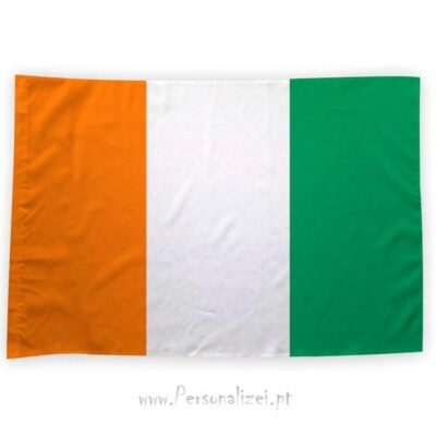 Bandeira Costa do Marfim ou personalizada 70x100cm comprar bandeiras baratas em Portugal