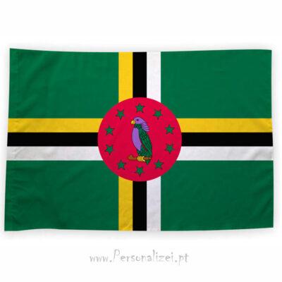 Bandeira Dominic comprar bandeiras baratas em Portugal