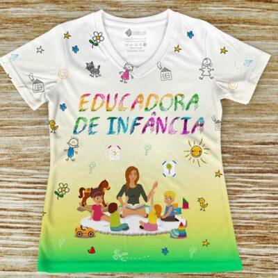 T-shirt Educadora de Infância profissão/curso comprar em portugal