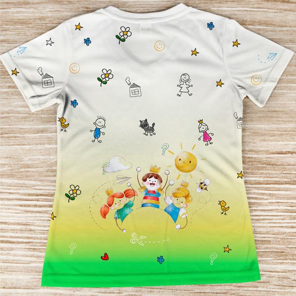 T-shirt Educadora Infantil colorida