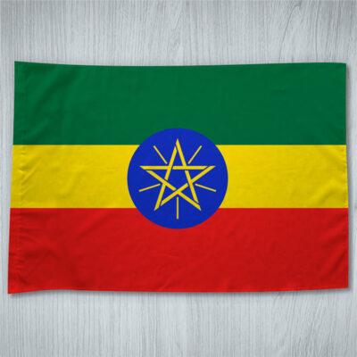 Bandeira Etiópia comprar bandeiras baratas em Portugal