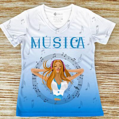 T-shirt Música profissão/curso t-shirts personalizadas