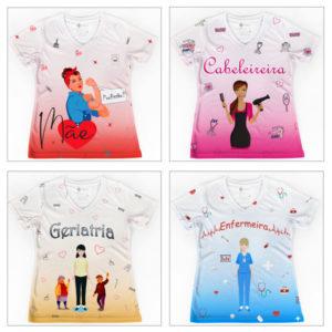 T-shirts Profissões/Cursos