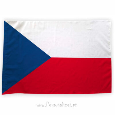 Bandeira República Checa ou personalizada 70x100cm comprar bandeiras baratas em Portugal