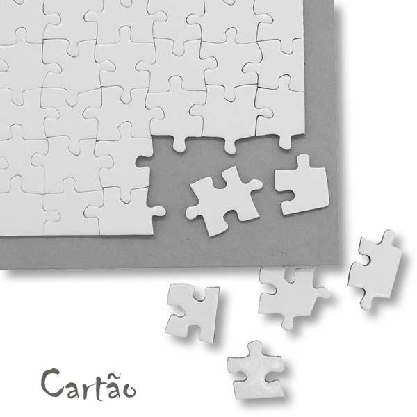 Puzzle personalizado com foto Cartão