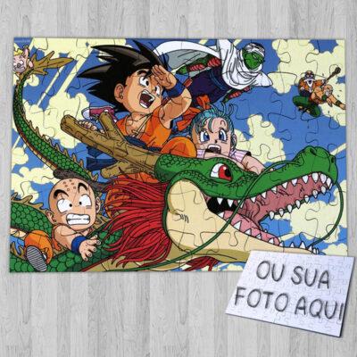 Puzzle Dragon Ball quebra-cabeça anime