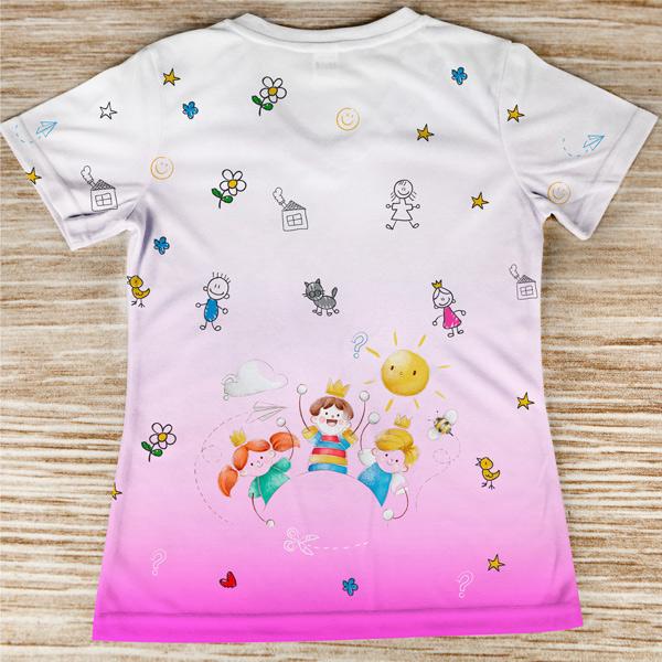 T-shirt Educadora Infantil costas preço