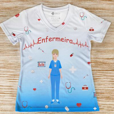 T-shirt Enfermeira profissão blusas