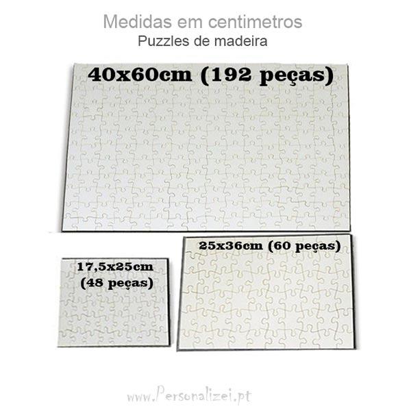 Puzzle personalizado com foto Madeira
