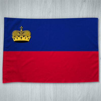 Bandeira Liechtenstein ou personalizada 70x100cm