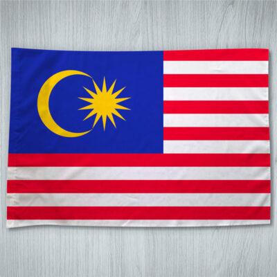 Bandeira Malásia ou personalizada com sua imagem