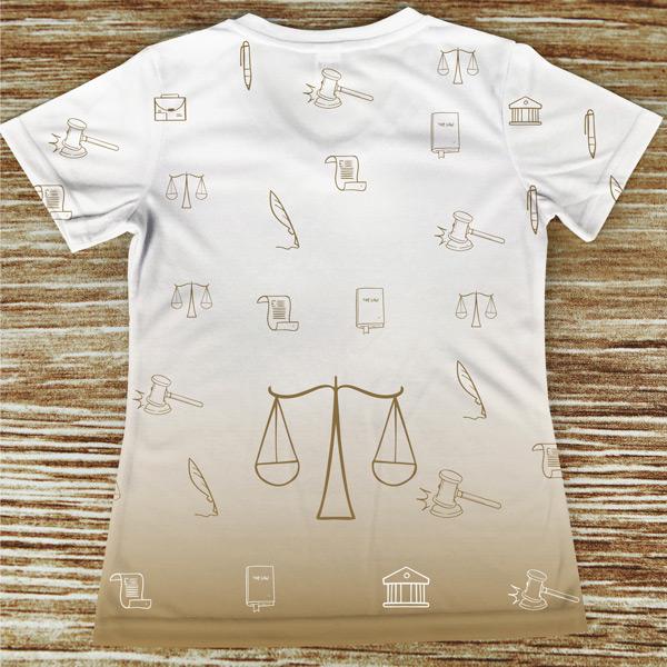 T-shirt Advogada profissão/curso camiseta